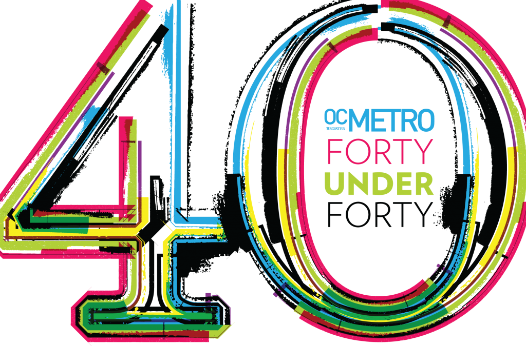 OC Register Metro 40 Under 40 Award